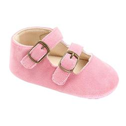 Voberry® Baby Girls' Crib Moccasins Cute Soft Sole Sneakers