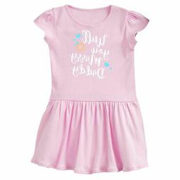 Inktastic Will You Marry Daddy-ring White Infant Dress Valen