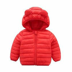 CECORC Winter Coats for Kids with Hoods  for Baby Girls, Boy