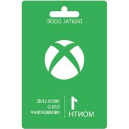 Microsoft Xbox Live 1 Month Gold Membership  FAST EMAIL DELI