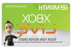 Xbox Live 12 Month Gold Membership Code Xbox One